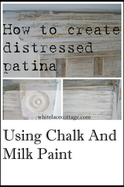 Create A Faux Patina Using Chalk And Milk Paint
