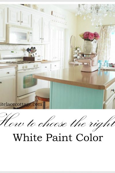 How To Choose The Right White Paint Color