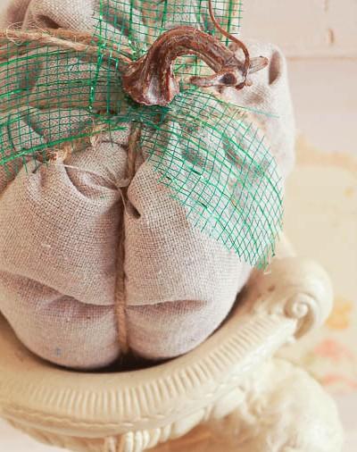 No Sew Pumpkin Craft Project