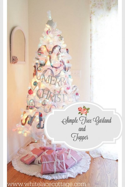 How To Make A Christmas Tree Garland