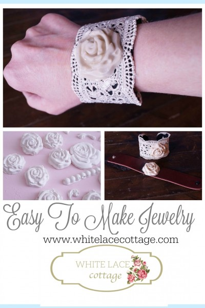 How To Make A Bracelet Using Plaster And Resin