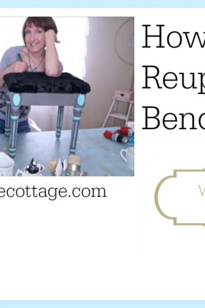 How To Reupholster A Bench Or A Chair