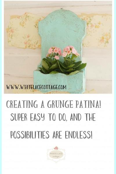 Creating A Grunge Patina