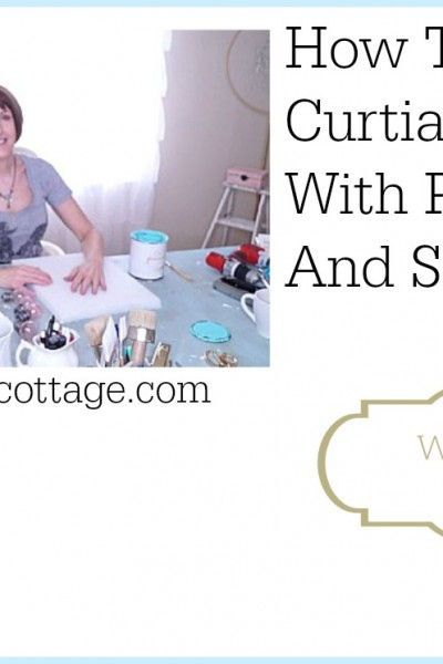 How To Update Curtain Finials