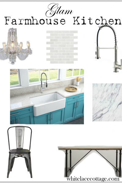 Glam Farmhouse Decor Ideas That You Can Add To Your Kitchen