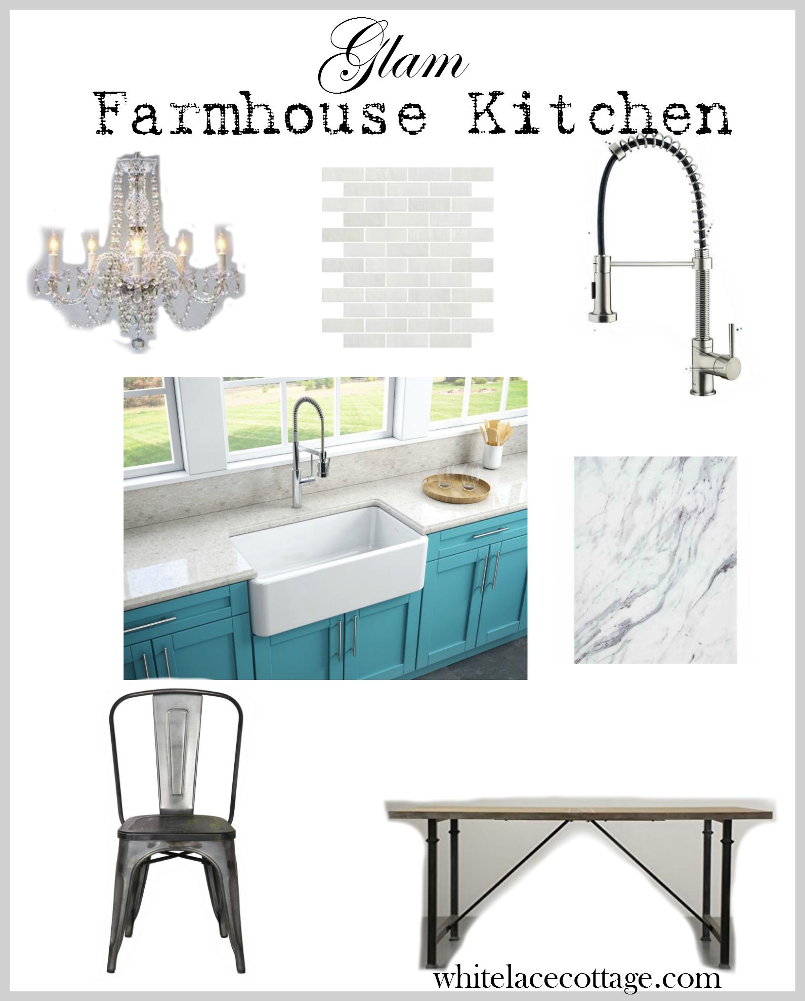 Glam Farmhouse Decor I...