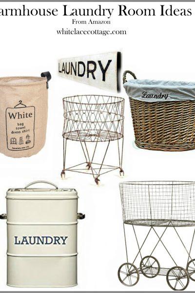 Farmhouse Style Laundry Room Ideas