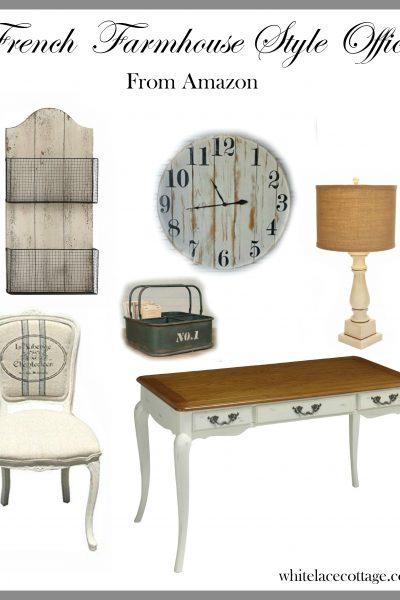 French Farmhouse Style Office Ideas