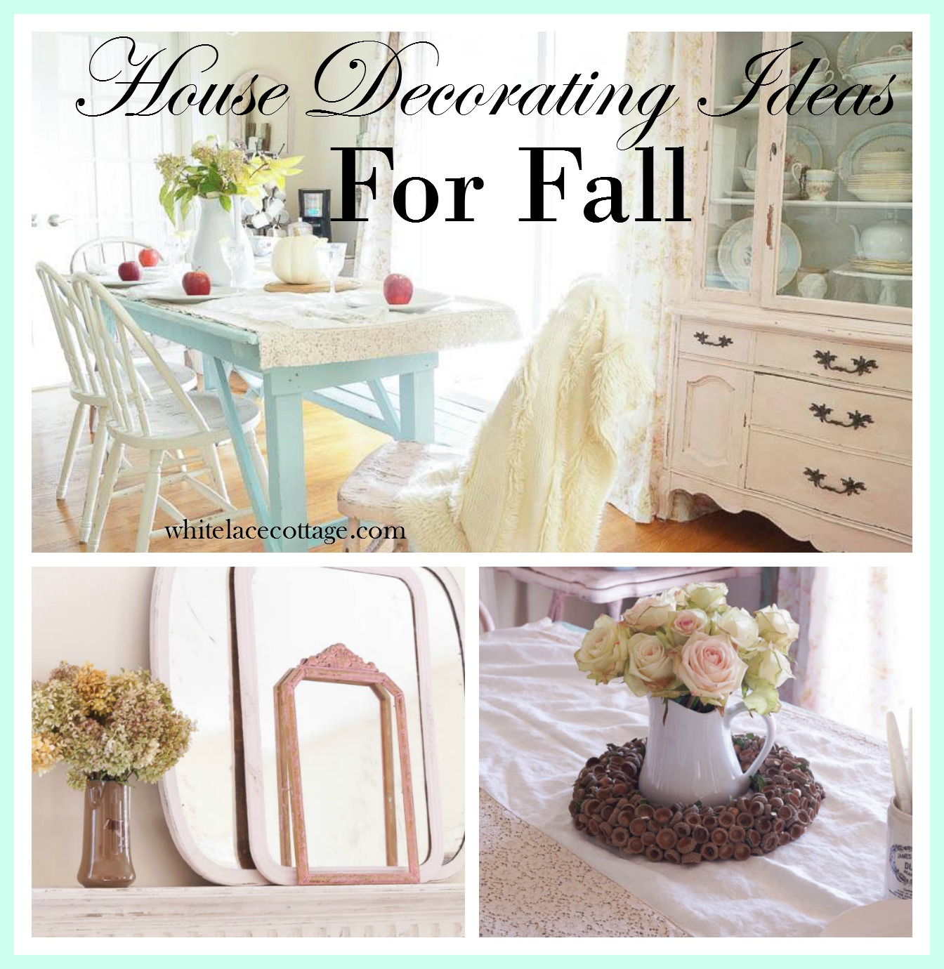 House Decorating Ideas For Fall