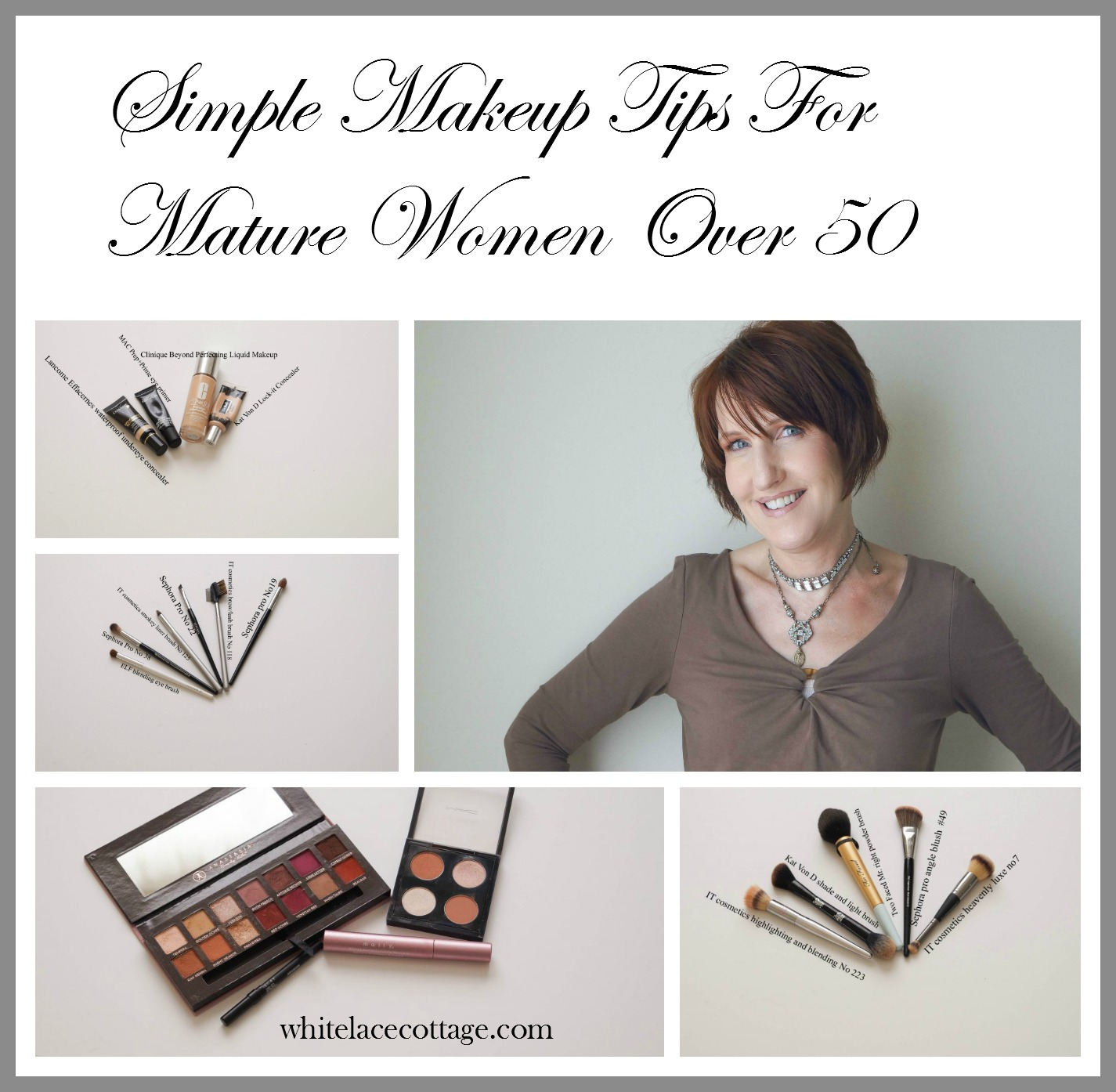 Simple Makeup Tips For Mature Women Over 11 - ANNE P MAKEUP AND MORE