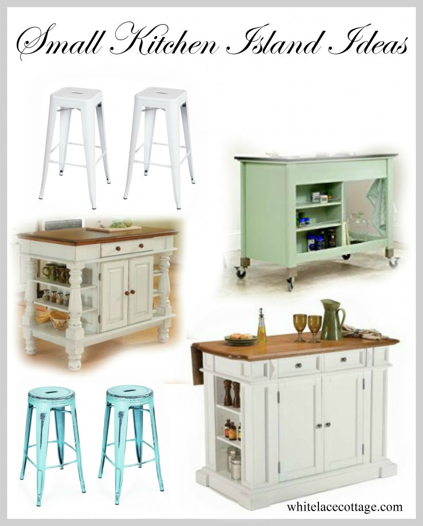 Small Kitchen Island Ideas With Seating White Lace Cottage