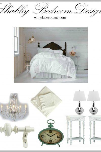 White Shabby Bedroom Ideas
