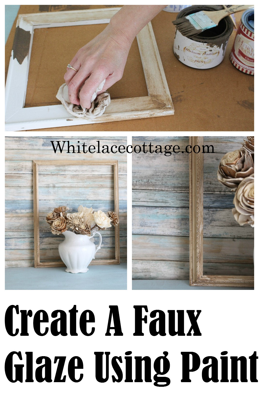 How To Create A Faux Glaze Using Paint Anne P Makeup And More