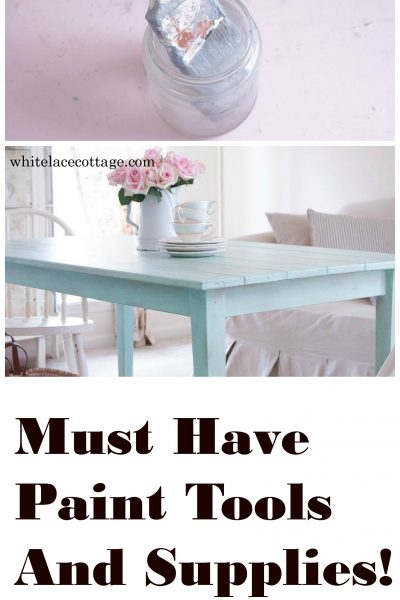 Must Have Paint Tools And Supplies