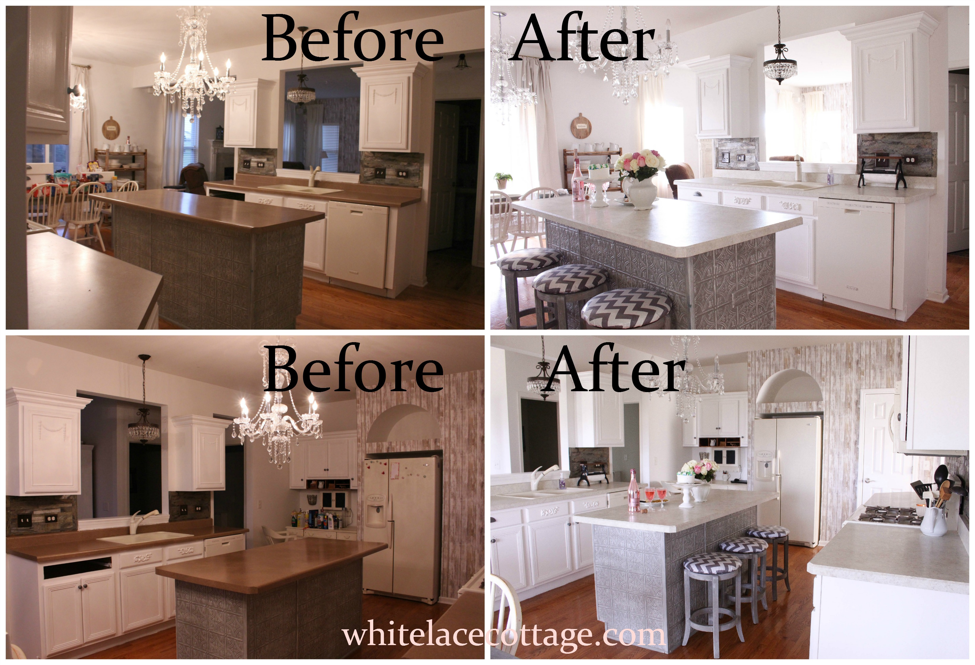 Choosing The Right Laminate Counters - White Lace Cottage