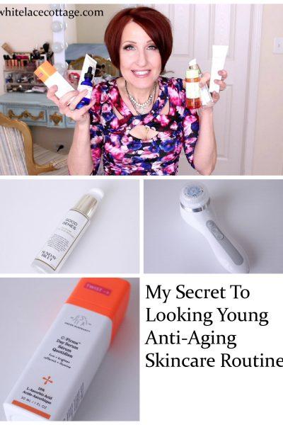 Anti-Aging Skincare For Women Morning Routine