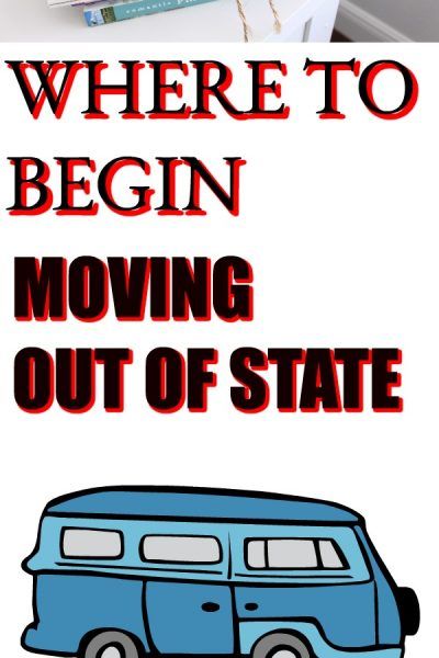 HOW TO MOVE OUT OF STATE