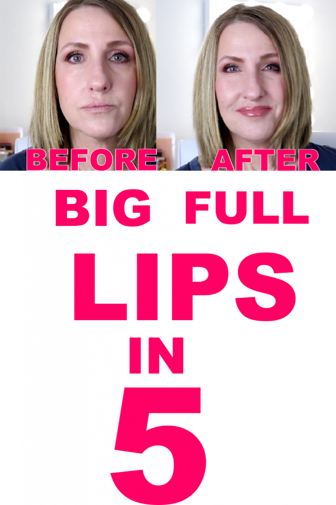 HOW TO GET BIG FULL LIPS AT HOME