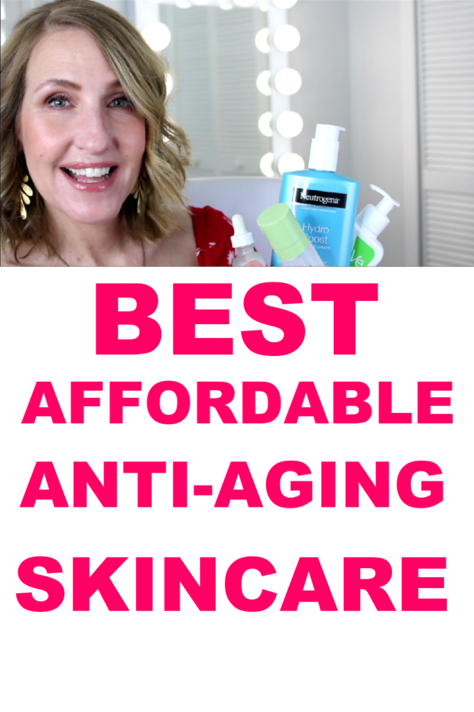best drugstore anti-aging skincare