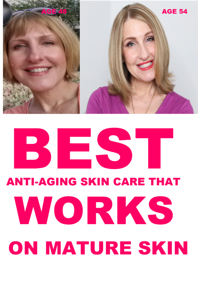 BEST ANTI-AGING SKIN CARE THAT WORKS ON MATURE SKIN!